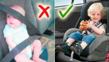 Какой штраф за перевозку ребенка без автокресла